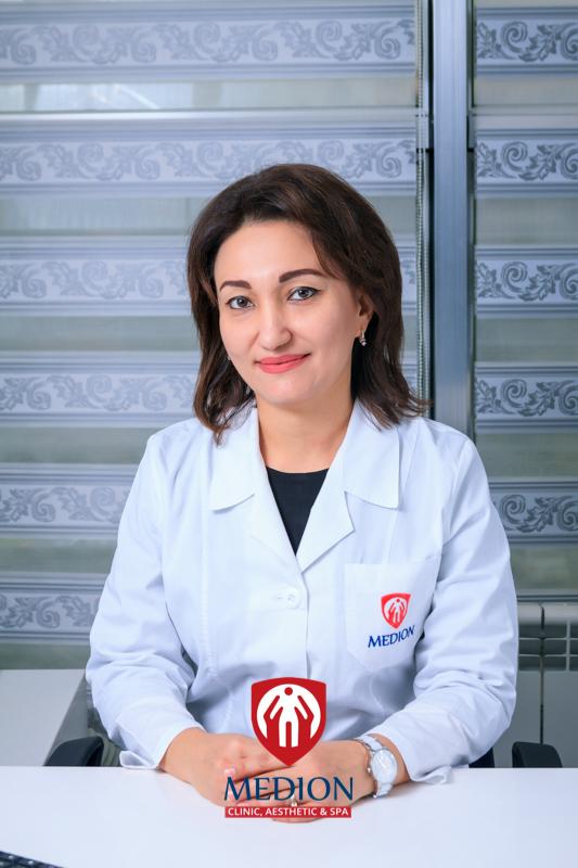 Шамсутдинова Наргиза Алихановна